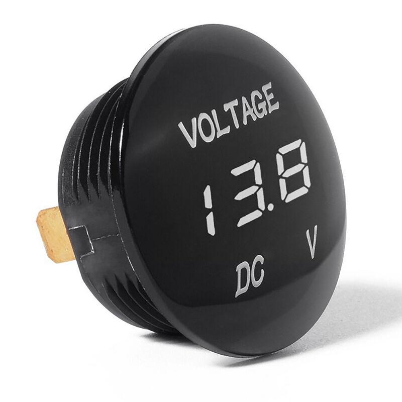 DC 12V/24V Car LED Light Panel Digital Voltage Volt Meter Display Voltmeter Tool 6