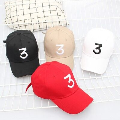 3 Baseball Cap Tide Snapback Caps Popular Chance The Rapper Hip-hop Hats E7CX 3