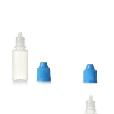 10 pcs 10ml Empty Dropper Squeezable Plastic Dropper Bottles Eye Dropper Bottle 5