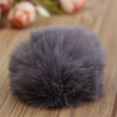 1PC Fur Windscreen Windshield Wind Muff for Lapel Lavalier Microphone Mic 4