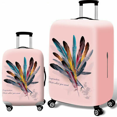 """Elastic Luggage Cover Dustproof 18""""-32"""" Thicker Suitcases Trolley Protector Case 4"""