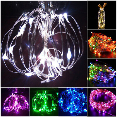 15 LED Cork Shape Fairy Lights Night Light Wine Bottle Strip Lamp for Bar Hotel 2