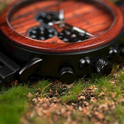 Luxury Design BOBO BIRD Japan Quartz Wrist Watch Men Women 44mm Gift Box Wood 4