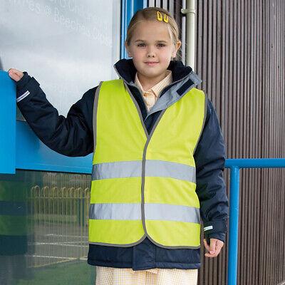 Result Core Junior Kids Hi Vis Safety Vest R200J - Childrens Polyester Waistcoat 3