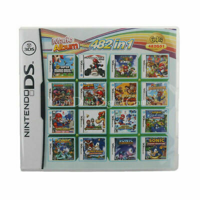 208 in1 468 in1 Game Card Multicart Cartridge Console for Nintendo NDS 2DS 3DS 11