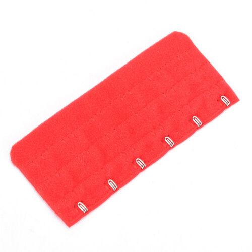 Woman Ladies 3 Rows 6 Hooks Brassiere Bra Extension Strap Extender 1Pc//3Pcs JDUK