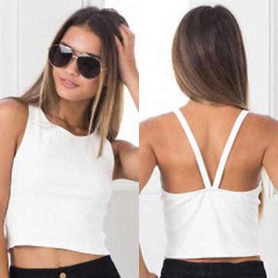 Casual Women V-Neck Vest Top Sleeveless Tank Tops T-Shirt Blouse Summer VestPB 6