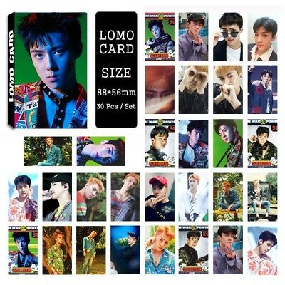 Lot of set cute KPOP EXO Album Personal Collective Photocard Poster Lomo Cards 5