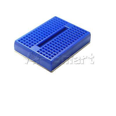 5pcs SYB-170 Mini Breadboard Colorful Breadboard Prototype Board Small Plates 7