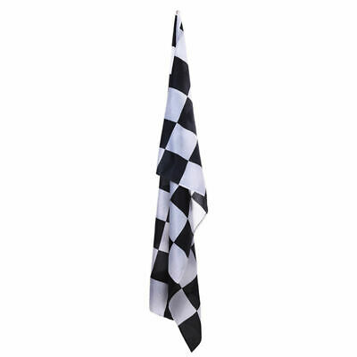 Giant Black & White Check Chequered Ska F1 Nascar Car Racing Flag Lewis Hamilton 9