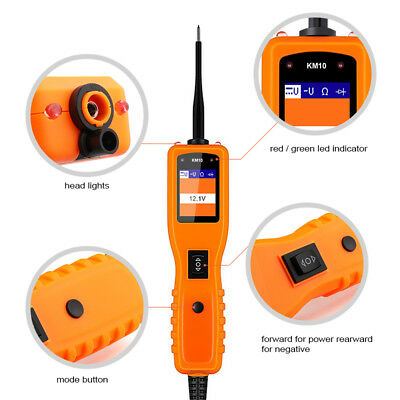 Car Power Probe 12V Scan Electrical Tester Circuit Test Avometer Diagnostic Tool