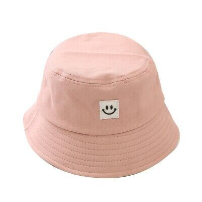 Unisex Foldable Smile Bucket Hat Outdoor Sunscreen Cap Smile Face Fisherman Hats 5