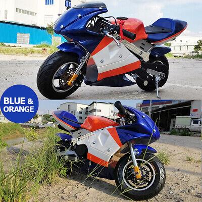 49Cc Mini Motor Dirt Bike Kids Pocket Rocket Pee Wee Motorcycle Atv 50Cc 3