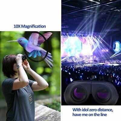 10X25 Binoculars with Night Vision BAK4 Prism High Power Waterproof 9
