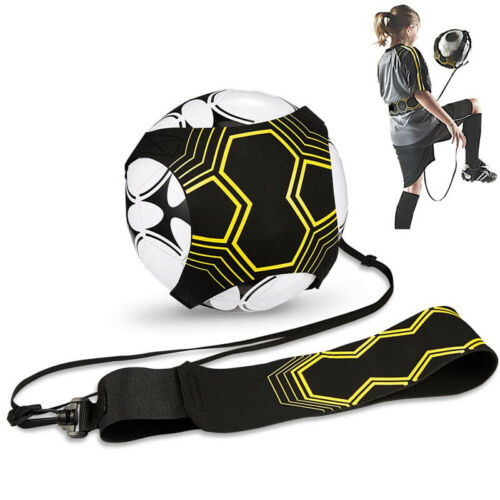 Football Self Training Kick Practice Trainer Equipment Waist Belt Returner Set 2