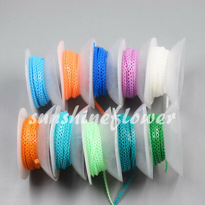 44 Colors Dental Orthodontic Short Long Close Type Elastic Ultra Power Chain 1x 10