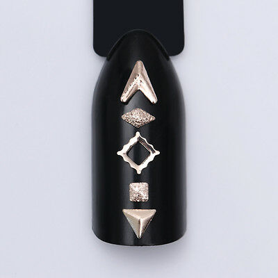 Glitter Crystal Smalto per Unghie Punte 3D Nail Art Decorazione Strass Manicure 6