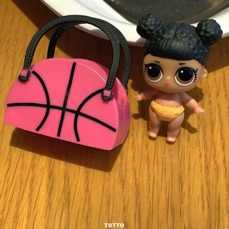 With bag LOL Surprise LiL Sisters MVP hoops CLUB SERIES 2 COLOR CHANGE doll 5
