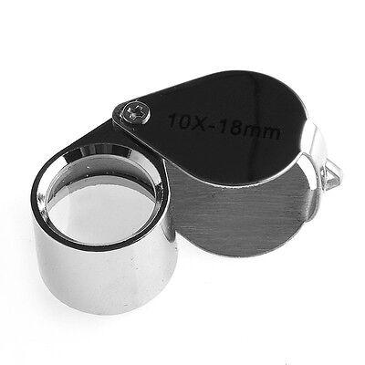 4sizes Triplet Jeweler Eye Loupe Magnifier Magnifying Glass Jewelry Diamond+Box 8