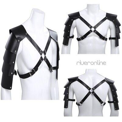 Herren Mens Brustharness Geschirr Körper Harness Riemen Body Kostüm Clubwear 2