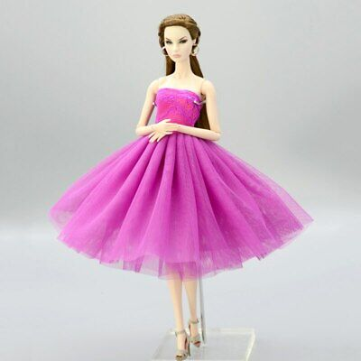 """Fashion Doll Clothes Short Ballet Dress For 11.5"""" Doll Outfits Evening Dress 1/6 11"""