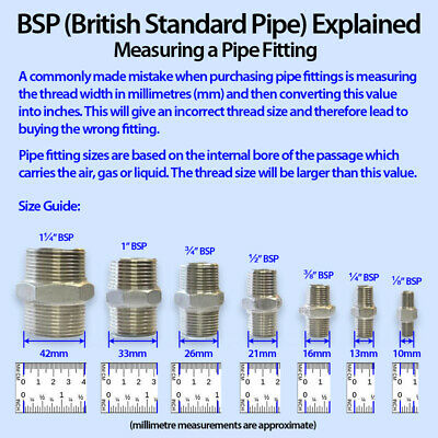 """BRASS 15mm PIPE COMPRESSION to 1/2"""" INCH BSP MALE FITTING ADAPTER PIPE CONVERTER 6"""