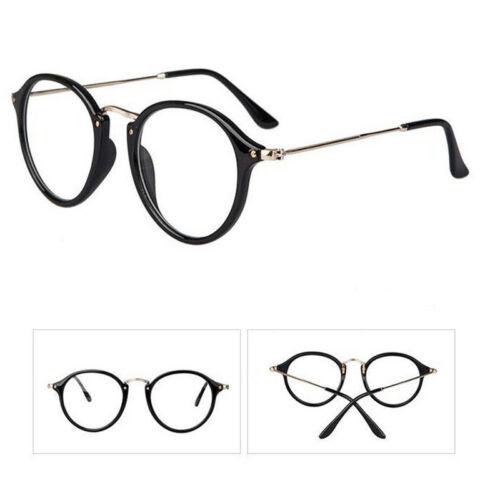 RETRO VINTAGE MEN Women Round Eyeglass Frame Full Rim Glasses ...