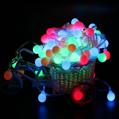 Fairy LED String Lights Christmas Round Ball Blubs Wedding Party Lamp 3M 4M 5M 7