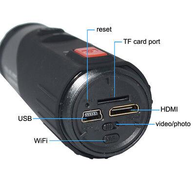 WIFI HD 1080P Sports Action Camera Bike Helmet Waterproof For Shotgun Camcorder 4