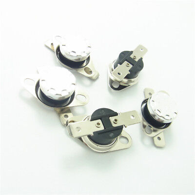 NO//NC 5x Schalter Temperaturregulierung 0-160°C 250V 10A Thermostat KSD301