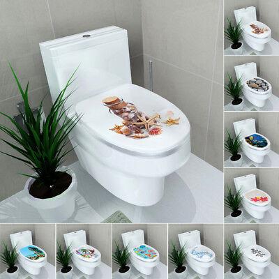DIY WAND AUFKLEBER WC Toilette Sitz Abziehbilder Entfernbare Vinyl Home  Decor