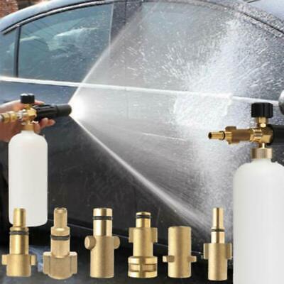 Pressure Snow Foam Washer Jet Car Wash Adjustable Lance Cannon Soap Sprayer 9