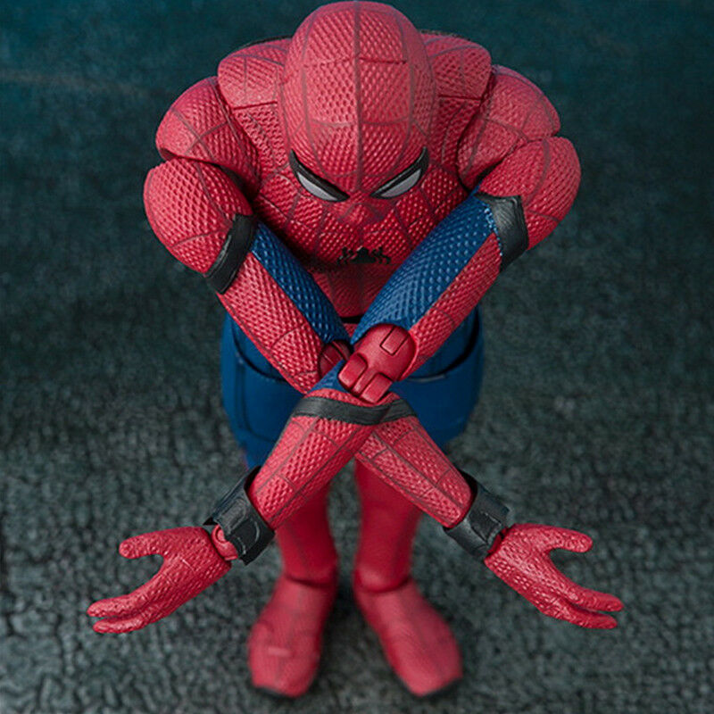 16cm Spider-Man Superheld Action Figur Avengers Spiderman Figurine Spielzeug Toy 11