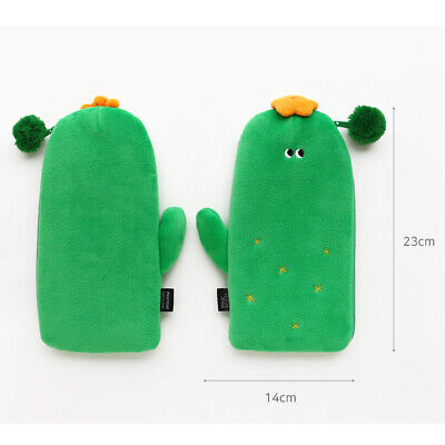 Funny Vegetables Soft Plush Type Pencil case Pen Bag Stationery Tavel Organizer 7