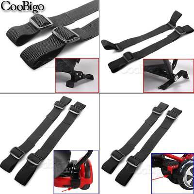 "2X Strong 1"" Hoverboard Kart Accessories HoverKart Replacement Straps Adjustable 4"