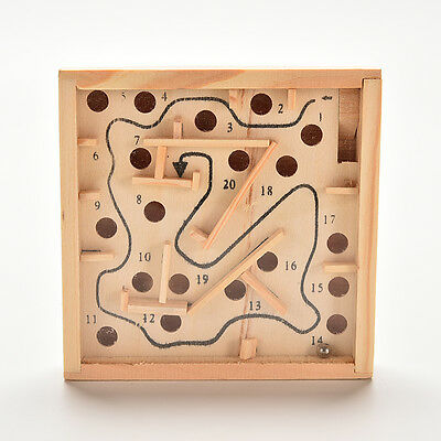 Balance Board Game Toy Wooden Labyrinth Maze Game Aged 6 Years old UQ