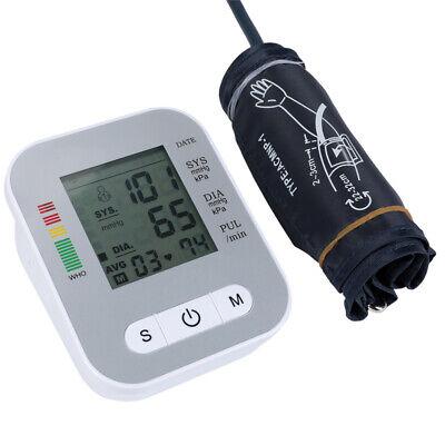 Accurate Full-automatic Upper Arm Blood Pressure Monitor BP Cuff Machine Gauge 2