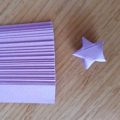 240pcs Origami Lucky Star tiras de papel cintas de papel plegables colores GK 2