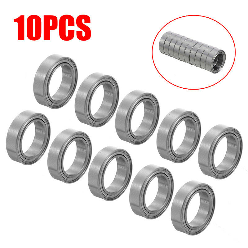 6700ZZ 10*15*4mm Deep Groove Metal Double Shielded Ball Bearing Thin Wall Roller 3