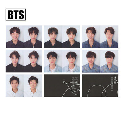 KPOP Bangtan Boys Album MAP OF THE SOUL PERSONA Boy with Luv Photo Card 5
