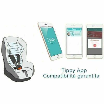 Salva Bimbo Bebè Bambino Anti Dimenticanza Sensore Auto Cuscinetto Tippy 3