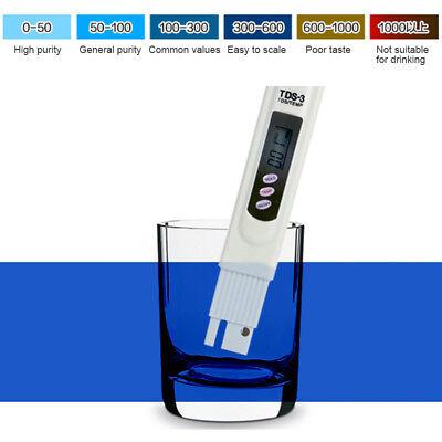 Numérique TDS-3 Qualité l'eau Pureté Mètre Testeur TEMP PPM Filtre Nutritif Test