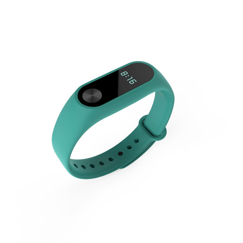 Silicone Wrist Strap Fitness Band with Clasp For Xiaomi Mi Band Miband 2 Tracker 9