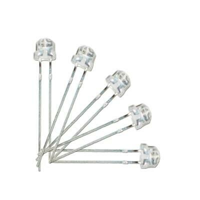 10 LEDs 5mm PINK STRAWHEAD RIESEN ABSTRAHLWINKEL