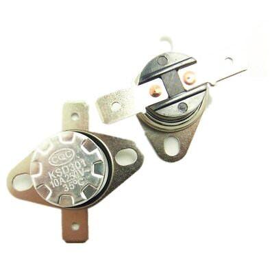 Temperature Switch Control Sensor Thermal Thermostat 35°C-160°C NO/NC KSD301 2