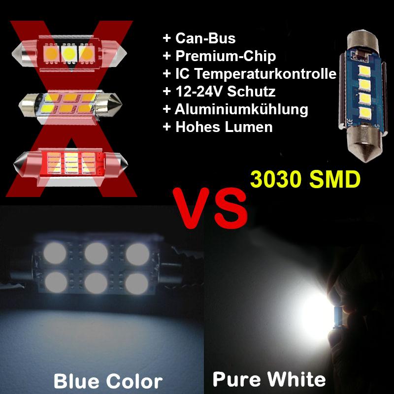KIA Ceed SW LED Innenraumbeleuchtung Set Premium Kit 8 SMD