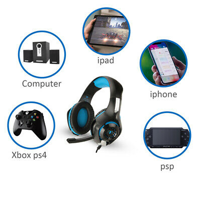 Stereo Headset Headphone Audio Game Adapter For Microsoft Xbox One Controller US 10