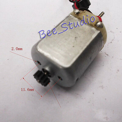 DC 12V 24V 8000RPM Mabuchi FC280SA Carbon Brush Motor Metal Gear DIY RC Car Toy 4