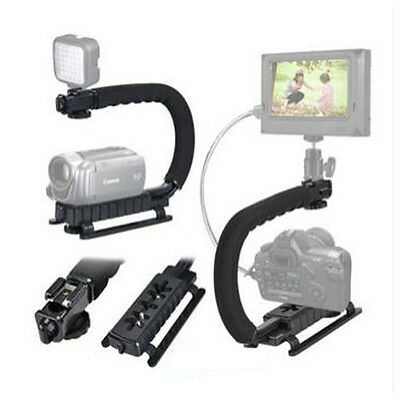 C Shape Bracket Handheld Video Stabilizer Steadycam For DV DSLR Camera Camcorder