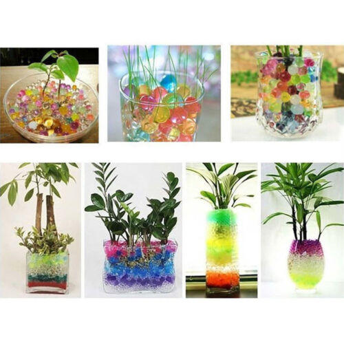 10000pcs Jelly Beads Water Plant Flower Crystal Soil Mud Water